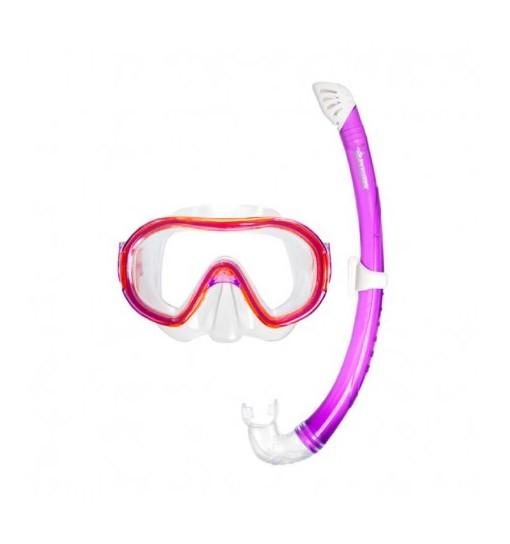 Maschera subacquea per bambini con boccaglio Naxos Abysstar