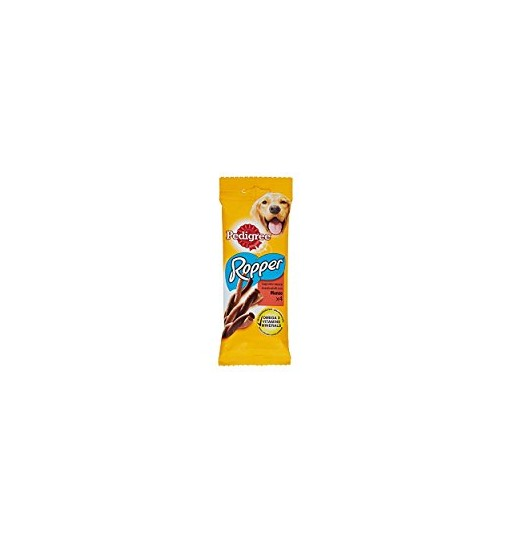 Pedigree Ropper gustose strisce con Manzo snack 4 pz 70 gr