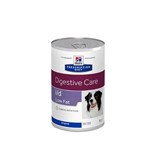 "Umido cane Digestive Care"" i/d"" Low Fat 360gr Hill's prescription diet veterinary exclusive."