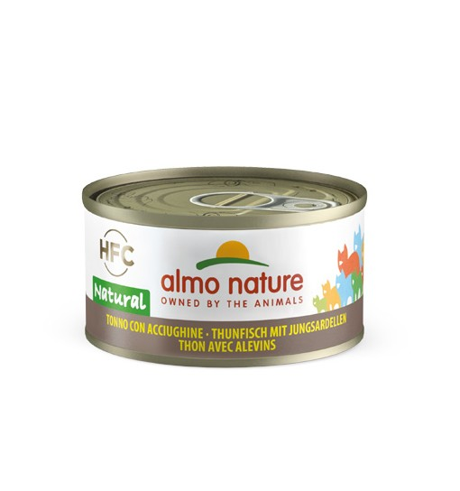 Almo Nature Umido gatto Tonno con acciughine 70 gr