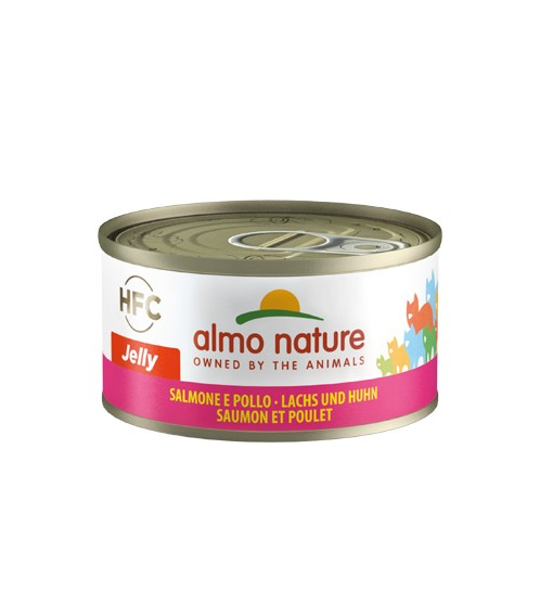 Almo Nature Umido gatto Jelly salmone e pollo 70 gr