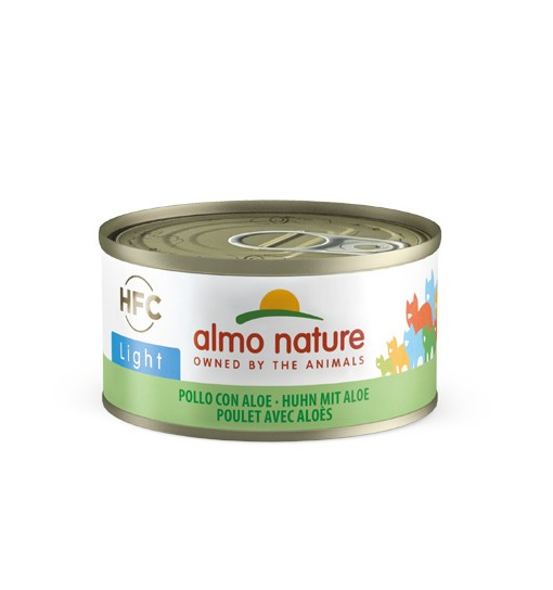 Almo Nature Umido gatto light pollo con aloe 70 gr