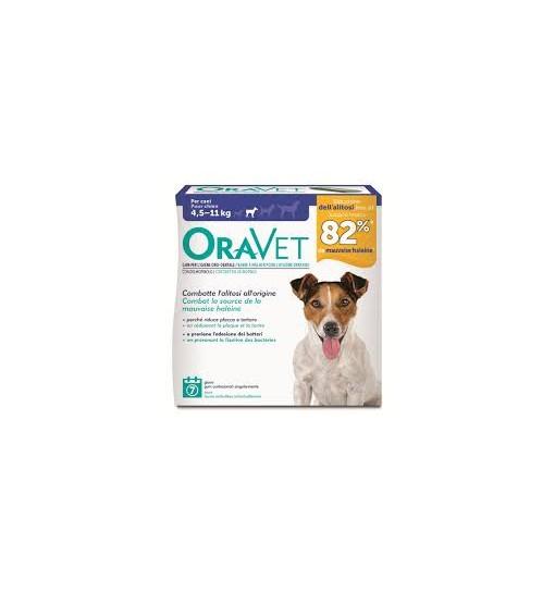 Oravet gum per cani da 4,5 a 11 kg mis S