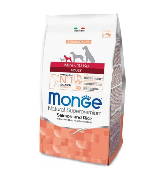 MONGE ADULT MINI SALMONE 800 gr