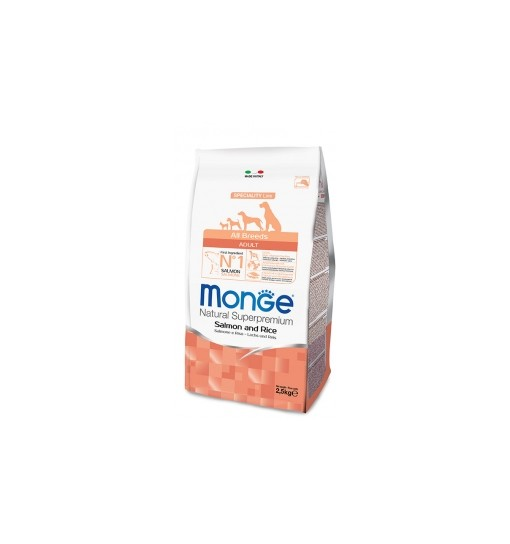 Monge all breeds adult salmone monoproteico 12 kg