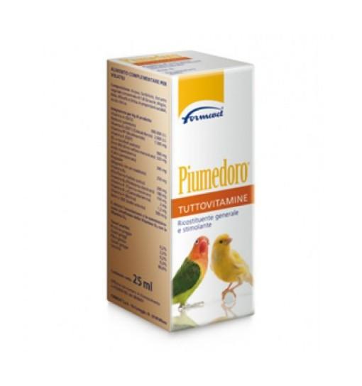 Piumedoro tuttovitaminealimento complementare multivitaminico Formvet 25 ml