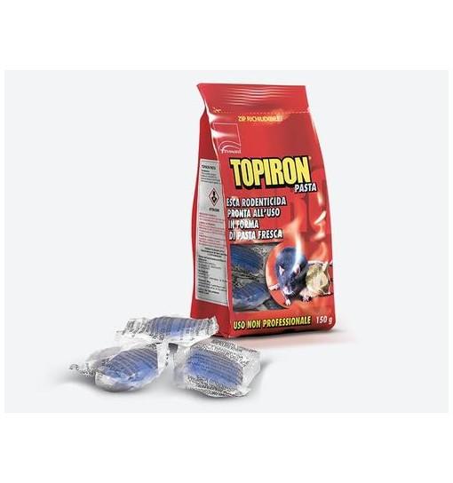Esca Rodenticida Topiron in pasta pronta a l'uso 1,5 kg