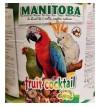 Manitoba fruit cocktail secchiello da 4 kg alimento completo per pappagalli
