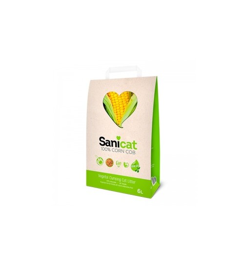 Sanicat Corn Cob 6 L 100 % Vegetale