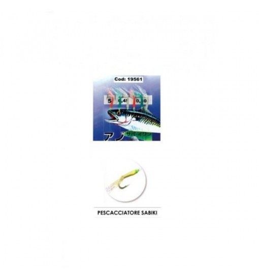 Pescacciatori Sabiki Expert Predator cod 19561 multicolor amo n. 1
