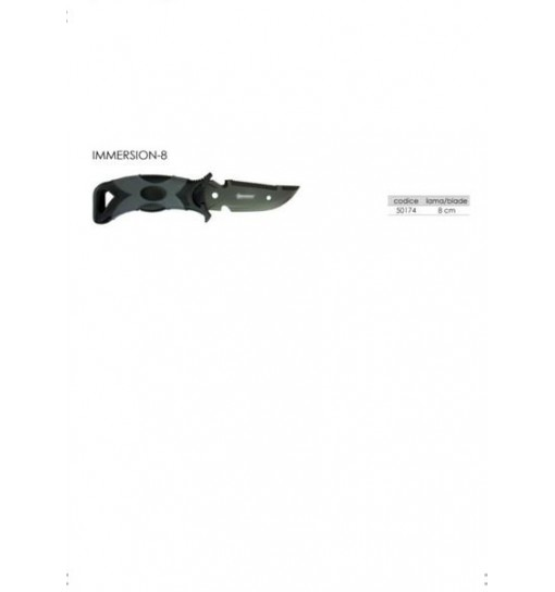 Coltello Pugnale per subaquea Immersion abysstar
