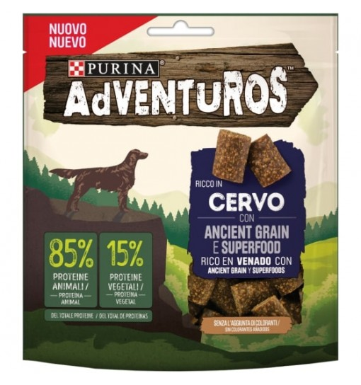 ADVENTUROS STRIPS gusto cervo 90 gr
