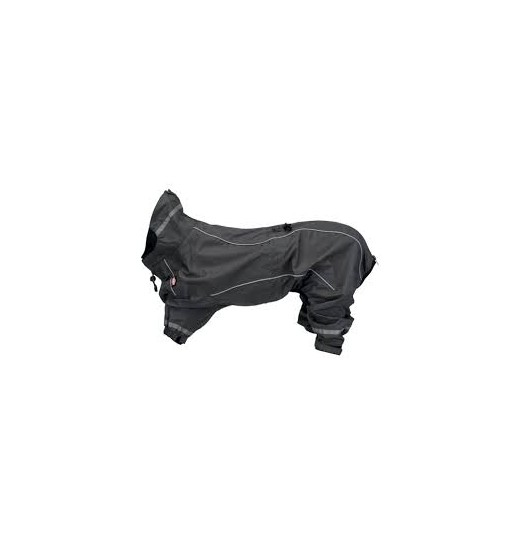 Impermeabile Tuta Vaasa grigio taglia 55 cm trixie