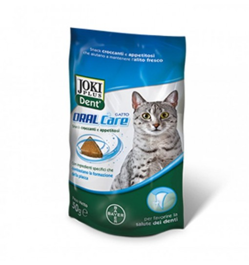 Joki dent plus Oral Care gatto 50 gr Bayer