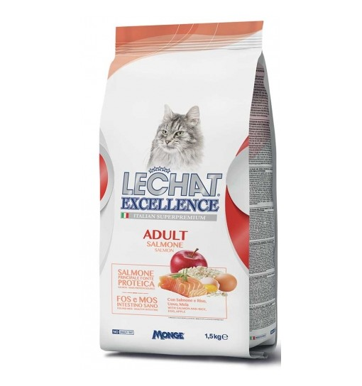 Lechat Excellence gatto adult salmone1,5 kg