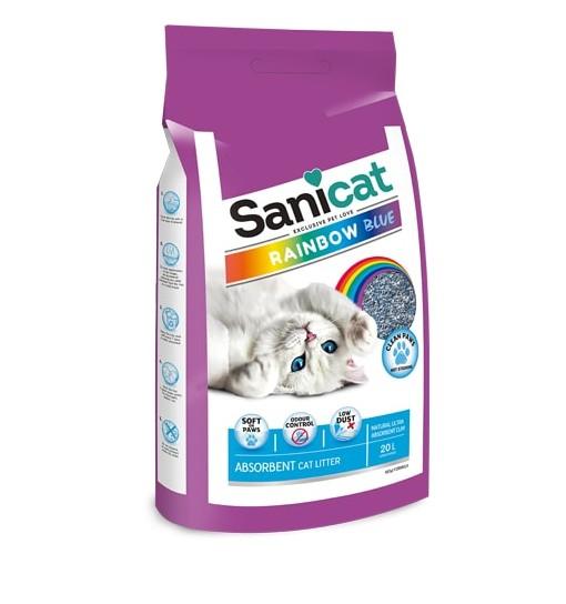 Lettiera Sanicat Rainbow Blue 20 l