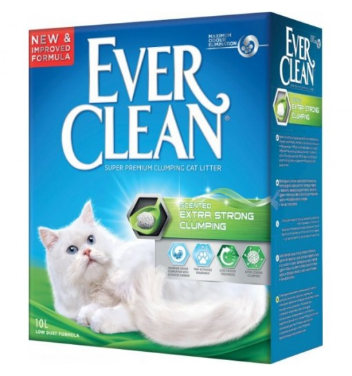 Lettiera per Gatti Extra Strong Ever Clean 6 L